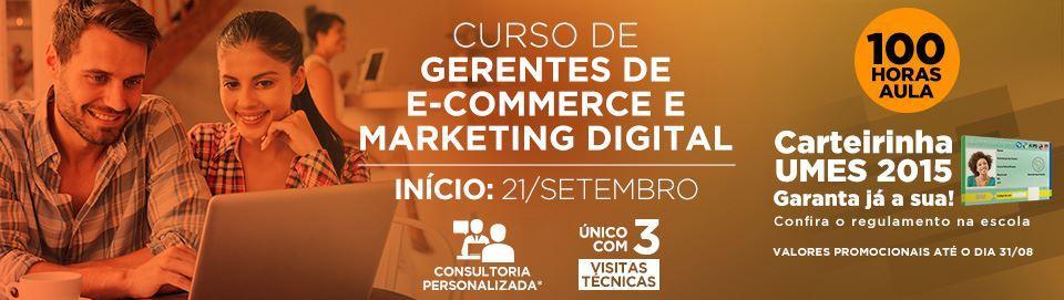 Curso Gerente de E-commerce e Marketing Digital